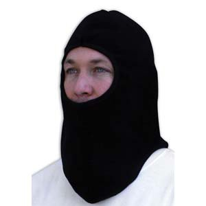 ZAN HEADGEAR FLEECE BALACLAVA BLACK