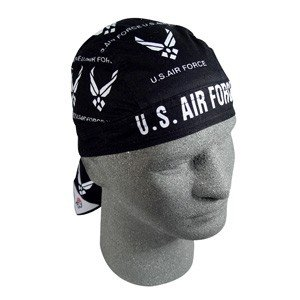 ZAN FLYDANNA HEAD WRAP/DOO RAG/SKULLCAP US AIR FORCE