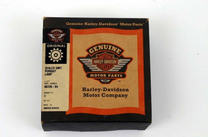 HARLEY-DAVIDSON SEALED UNIT POLICE/PURSUIT LAMP