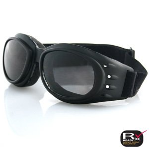 BOBSTER CRUISER GOGGLE BLACK FRAME 3 LENSES