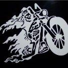 "Ghost Rider"" Style Vinyl Logo 7 1/4"" x 8 1/4"
