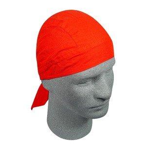ZAN FLYDANNA HEADWRAP/DOO RAG/SKULL CAP SOLID RED