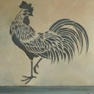 Rooster Stencil, Easy reusable stencils for DIY decor walls, fabric