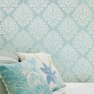 Wall Stencil Damask Kerry SM, Reusable stencils better than wallpaper