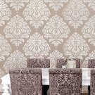Wall Stencil Damask Kerry LG, Reusable stencils for DIY wall decor