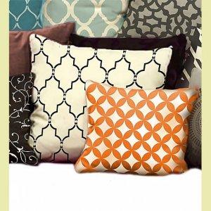Craft Stencil Marrakech Trellis MED, DIY Stencil for furniture, pillow