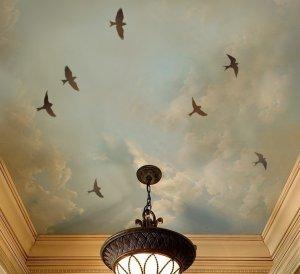Stencils Flying Birds 3pc kit, DIY Reusable Bird stencils wall decor
