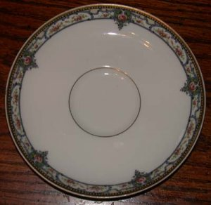 Theodore Haviland Saucer  Troy Pattern