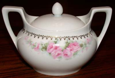 R S Germany Sugar Bowl With Lid