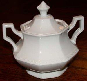 Johnson Bros. Sugar Bowl White