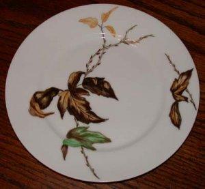 Haviland Decorative Plate Autumn Leaves