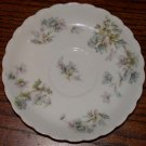 Haviland Saucer Blue and Pink Flowers