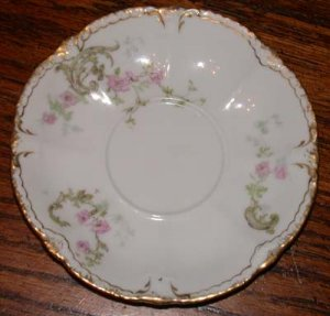Theodore Haviland Saucer Pink Flowers