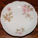 H & C France Butter Pats Pink Flowers 1888-1896