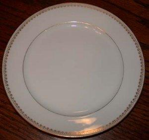 Charles Field Haviland Gold Trim Dessert Plate