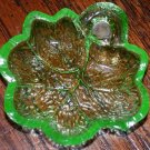 Salt Dish Grape Leaf Pattern Depression Era