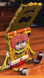 Polyconcept USA novelty Nickelodeon SpongeBob Flip Phone
