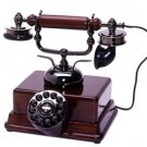 Sultan novelty Wooden Desk Phone telephone 1920's European tabletop design