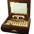 Crosley Ballerina xylophone music box Plays 50 tunes old-world tradition