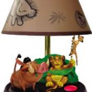 "Novelty ""Lion King"" animated, talking lamp Simba pulls the chain"