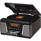 Crosley Autorama 3 Speed belt driven turntable with CD player CR712
