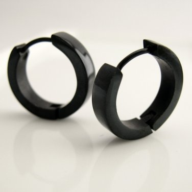 Large hoop earrings for men, men's earrings, guy's earrings, large hoop earrings, EC192