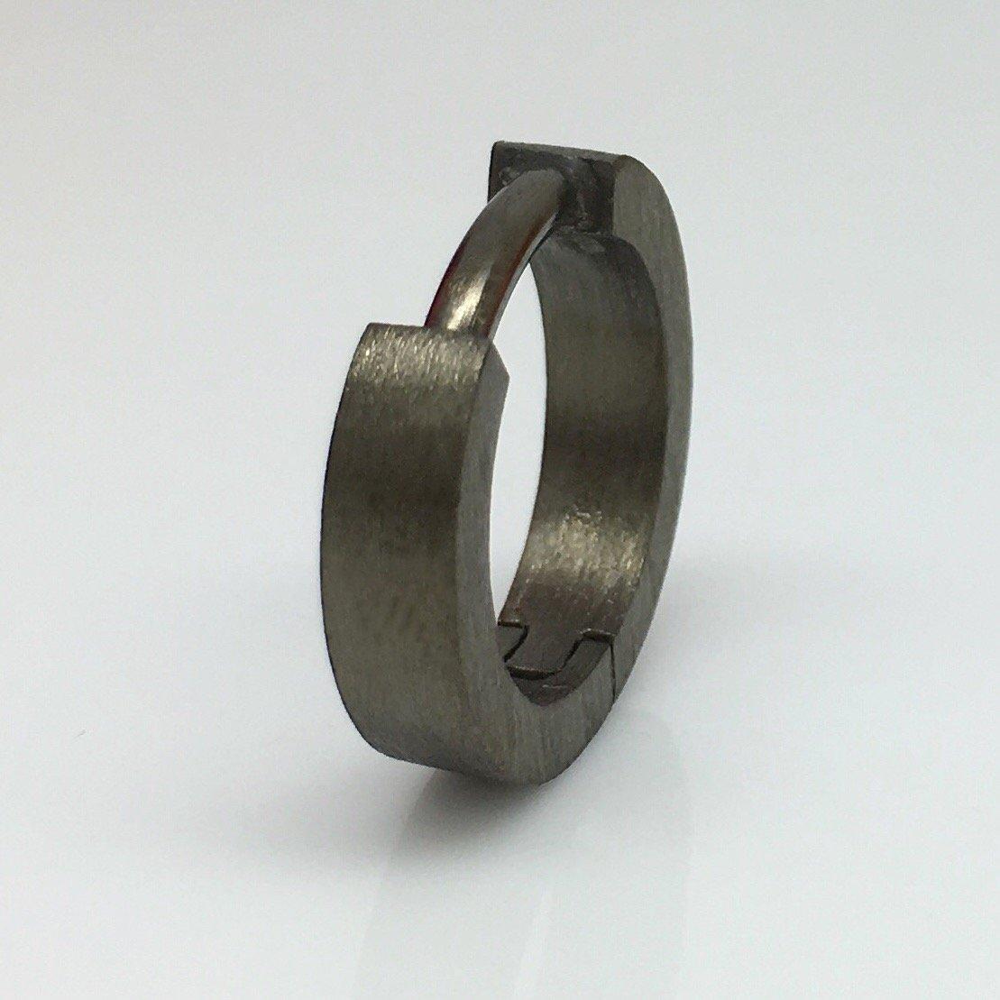 eb87406d7 14 Gauge hoop earring for men