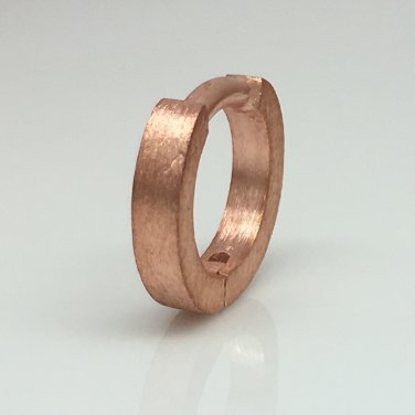 14 gauge cartilage hoop earring for men, ECE140MR14G single