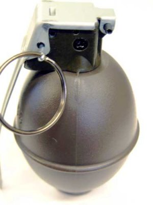 Sun Project BB Storage Grenade - Smooth Airsoft