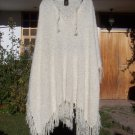 Beautiful boucle alpaca wool poncho