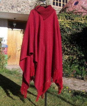 Beautiful Alpaca wool Poncho for lady