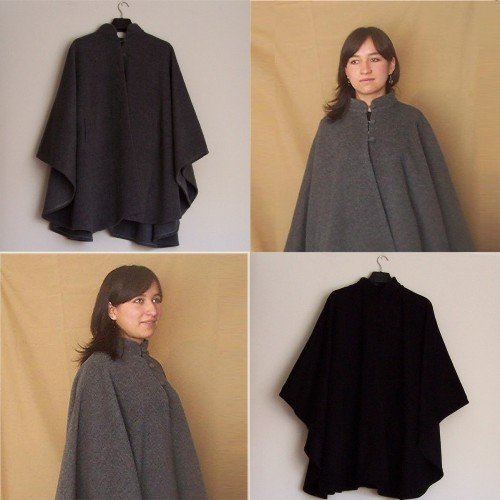 Lot of 10 alpaca fabric cloak