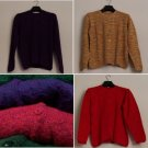 Lot of 40 hand made lady sweaters