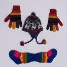 Lot of 10 baby sets hat + gloves + socks