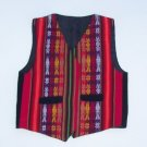 Lot of 10 ethnic Andean Musician vests