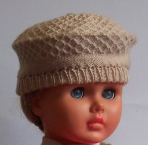 Lot of 10 beret baby hat
