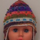 Lot 10 hat infant 3-6 months alpaca multicolor