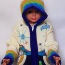 Lot of 10 arpillero zipper & hooded sweaters for kids