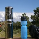 Go Berkey Water Filter Kit with Black Purification Element, Portable Sport Berkey Purifier and case