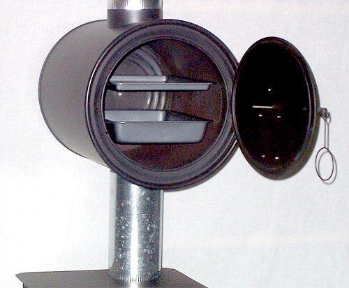 Chimney Oven for Tent & Cylinder Wood Stoves
