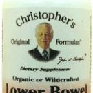 Lower Bowel Formula Capsules 100 count - Dr. Christopher's Herbal