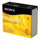 Sony DVD-RW 2X 4.7 GB Disc 10-Pack