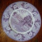 Transferware Staffordshire Alamo San Antonio TX Plate