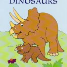 Printable Dinosaurs Coloring Pages 4 sheets Daycare Homeschool Kid's Dino#1
