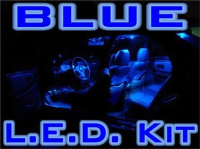 "COMPLETE ""BLUE LED"" KIT! Chrysler 300C/300 08-2009-2010"