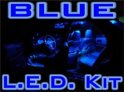 """-COMPLETE- """"BLUE LED"""" KIT! Chrysler 300C/300 05-06-2007"""
