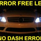 No-Error HID-WHITE LED  Parking Bulbs Mercedes 03+ C320
