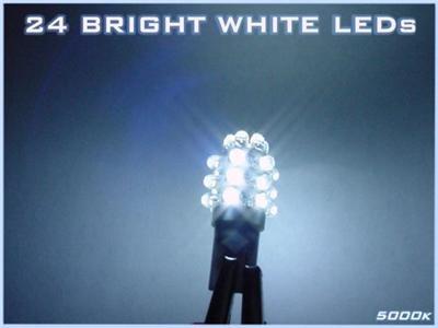 24-LED HID-White TRUNK BULB! Chrysler 300/300C 05-06-07