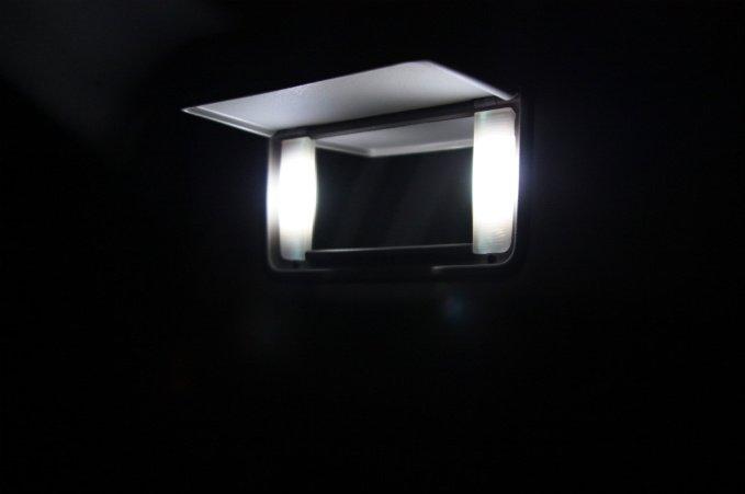"LED ""Visor"" BULB KIT! Nissan Altima 2008 2009 2010 HID"