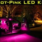 """HOT-PINK"" 33 SMT-LED BULB KIT! Mazda3 Mazda 3 2010-11"